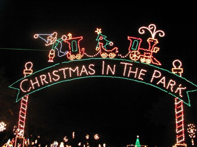 Christmas In The Park.Cuero Tx